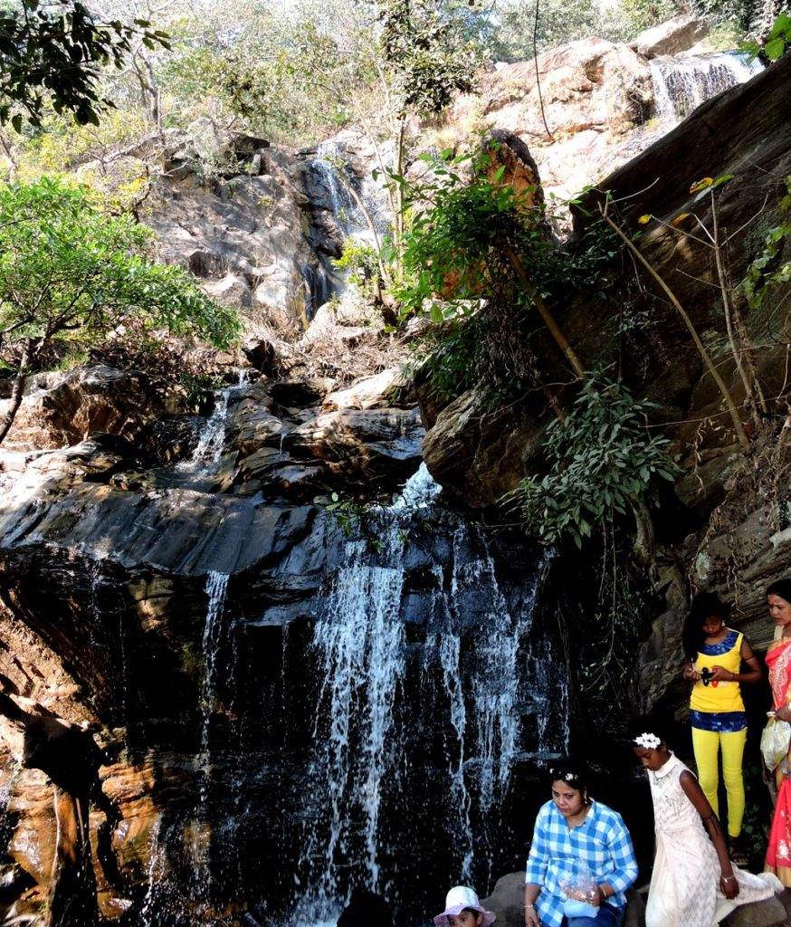 Bamni Falls in Purulia at Ayodhya Hills in west bengal