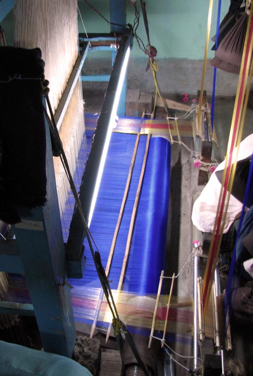 how-to-make-tussar-silk-bankura-murshidabad