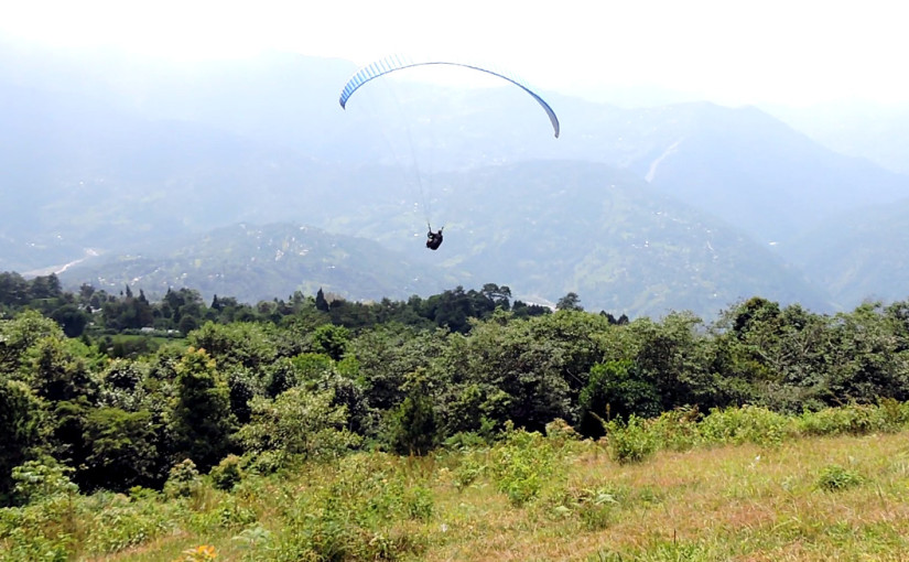 Paragliding-in-Kalimpong