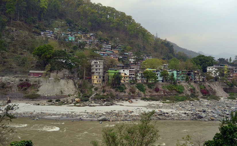 Teesta river Towards Kalimpong
