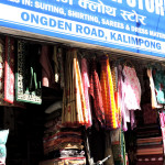 Winter clothing market in kalimpong