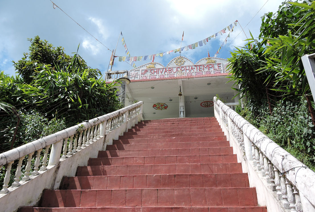 Shri Shiva Buddha Temple at Seole Village entry