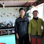 Pankarma homestay kitchen at Echhey Gaon