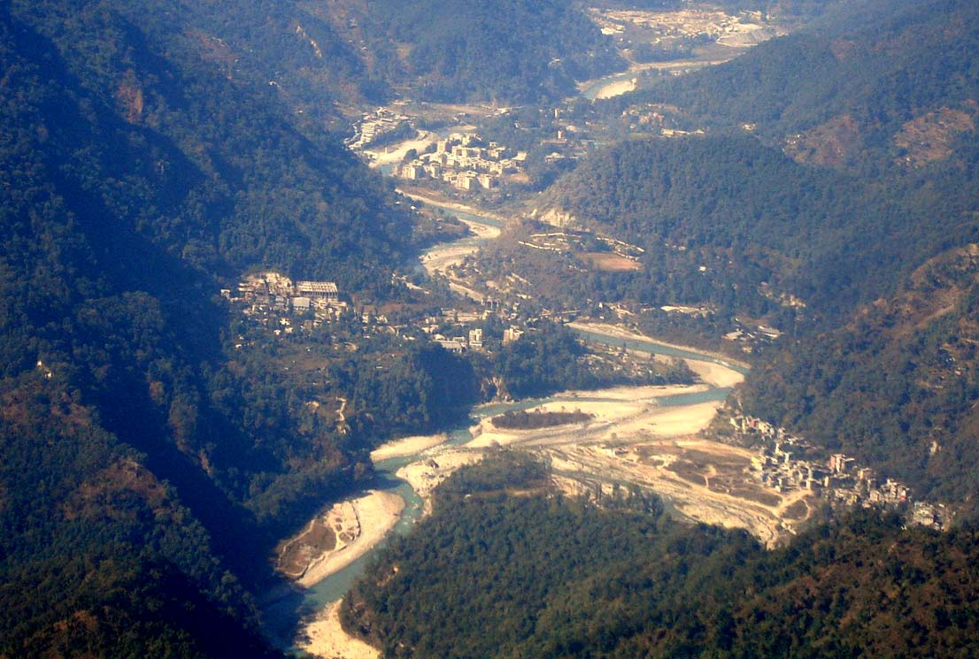 Teesta from ramitey view point