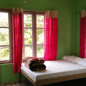 Humro Homestay Suntalekhola deluxe triple bedroom attached bathroom