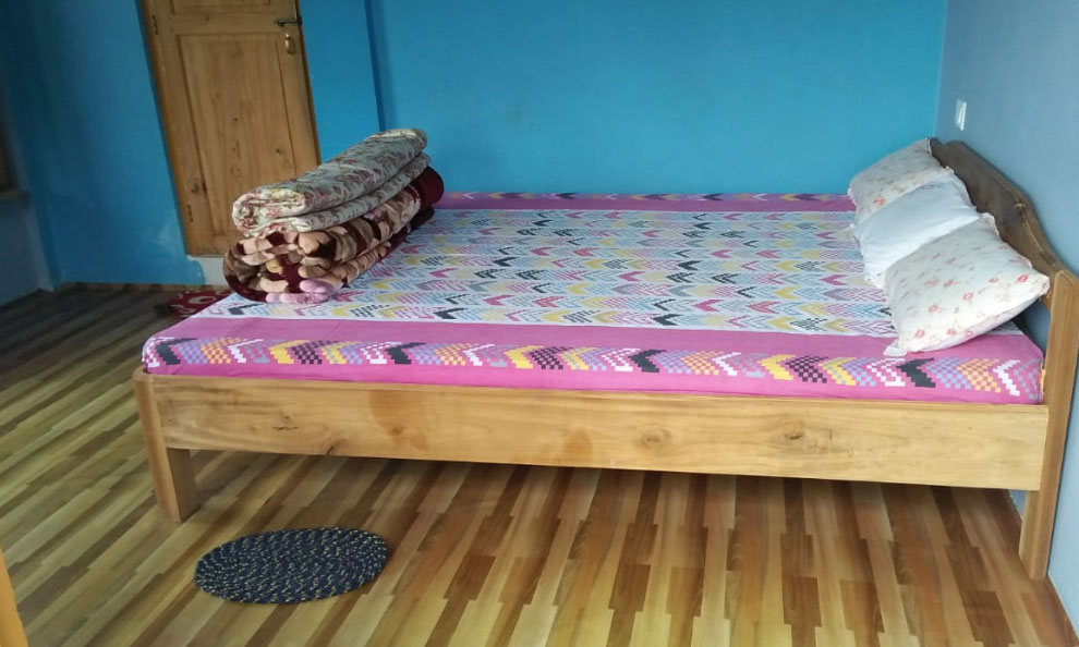 Humro Homestay Suntalekhola best bedroom attached bathroom