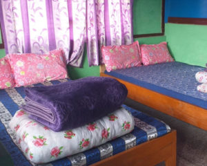 Best room at Pankarma Homestay at Icche Gaon