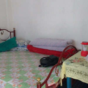 Mahat's homestay bedroom at suntalekhola or sutankhola