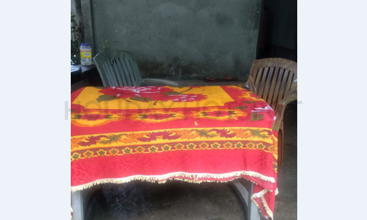 Toto Para thapa home stay dinning table near jaldapara