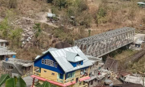Complete view of Mukhia Homestay at Sittong