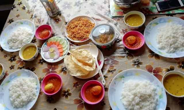 Nice food image at Latpanchar from Kharkha Homestay