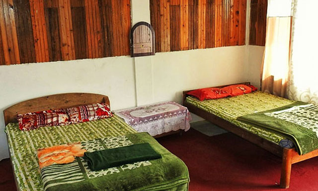Hornbillnest Homestay bed room image at Latpanchar