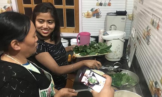 LEARN TRADITIONAL DISHES COOKING at The Wildwoods Homestay at chisang