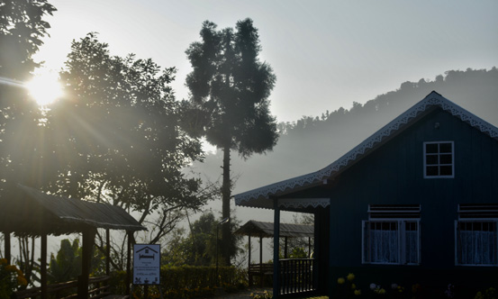 Chisang The Wildwoods Homestay morning sunrise view