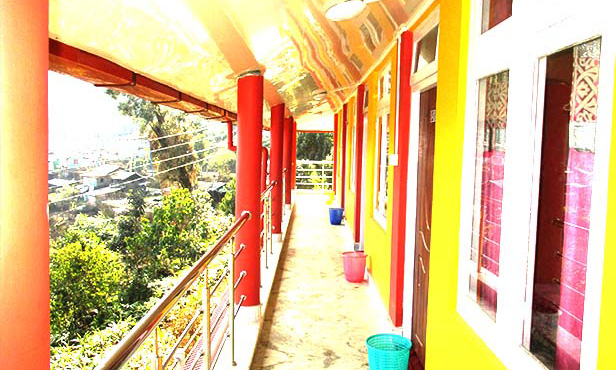 Sillary gaon heaven valley homestay balcony