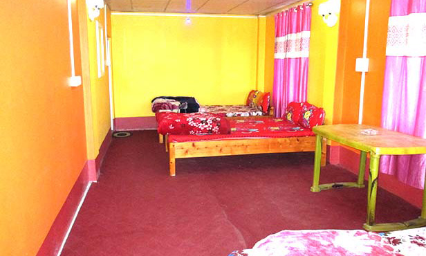 Sillary gaon heaven valley homestay bedroom image