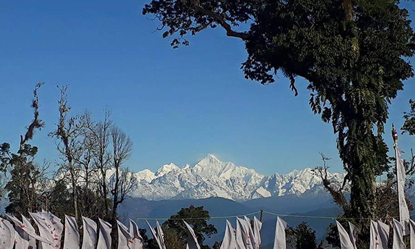 Kangchenjunga view from Sillary gaon