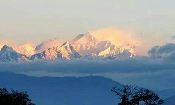 Kangchenjunga view from sillary gaon nirmala village