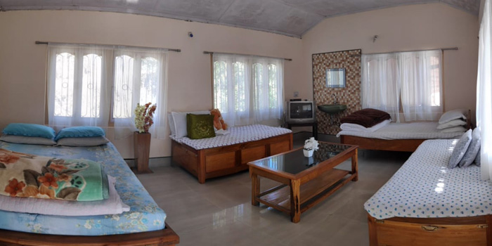 Jaldakha home stay room images
