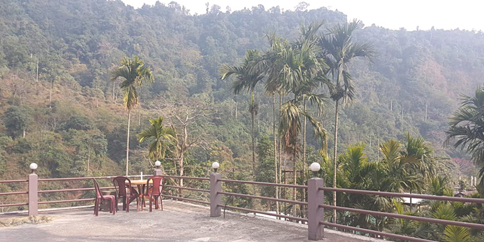 Jaldakha home stay river side open space