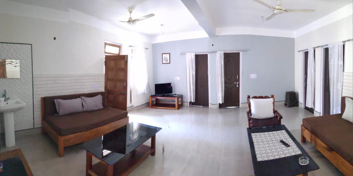 Jaldakha home stay drawing room