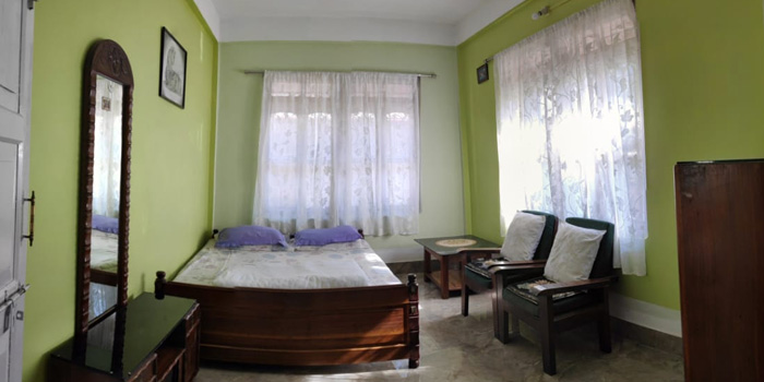 Jaldakha home stay bedroom