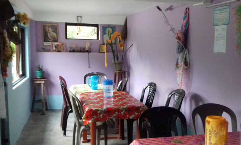 Namrata homestay dinning room image at rocky island near sumsing
